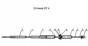 Оттяжка ОТ-4