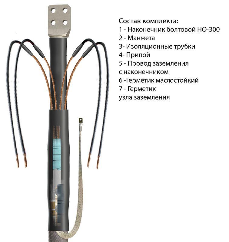 Концевая кабельная Муфта 1 КТ-1 (800)-ЭТ ЗЭТА (БПИ)