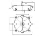 Коромысло четырехцепное двухрёберное 4КД2-25-1