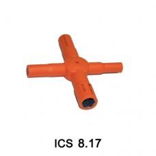 Изолированный торцевой ключ ICS 8-17 (8/10/13/17м)