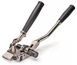 Инструмент ИНТ-20 с храповым механизмом для натяжения стальной ленты на опорах