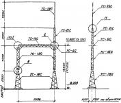 Портал стальной ячейковый ОРУ ПС-150Я2С