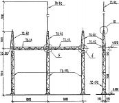 Портал стальной ячейковый ОРУ ПС-35Я5