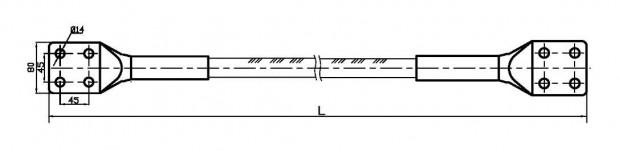 Шлейф соединительный анкерный Ш-400L