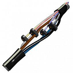Муфта ответвительная 4 ПОТ-1 (50–95/4–35) с зажимами ЗЭТА кабельная