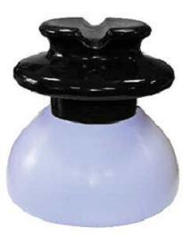 Изолятор линейный штыревой полимерный ШПФ 10Б